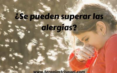 ¿Se pueden superar alergias?